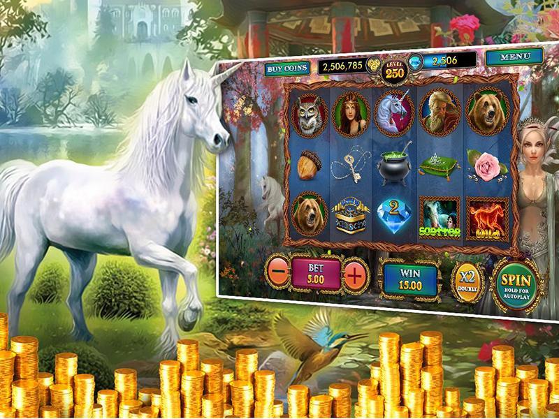 Enchanted Unicorn automatenspiele
