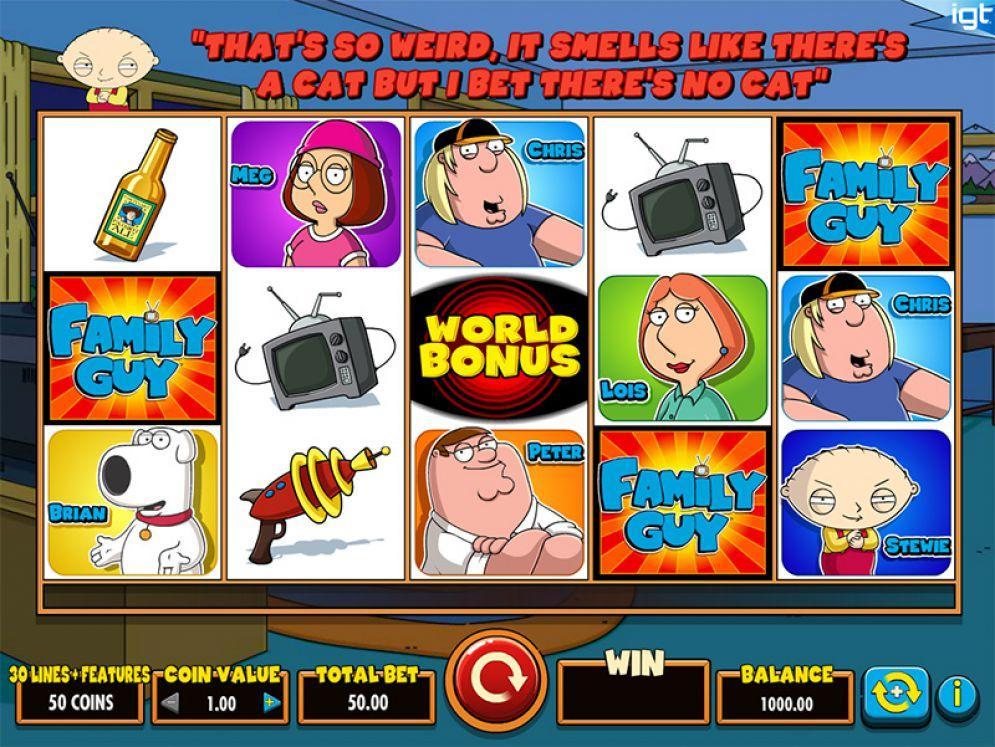 Family Guy automatenspiele