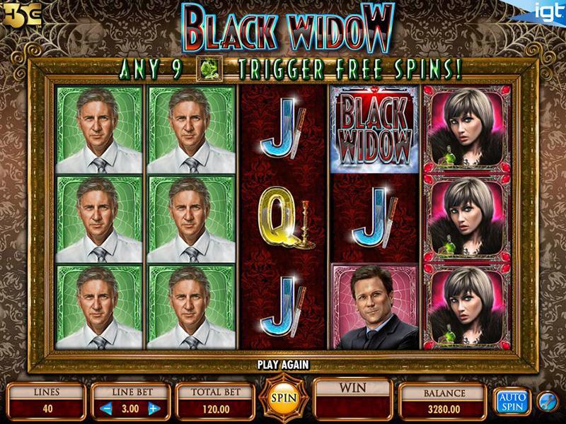 Black Widow automatenspiele