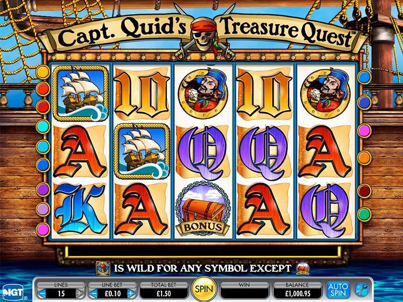 Captain Quids Treasure Quest automatenspiele