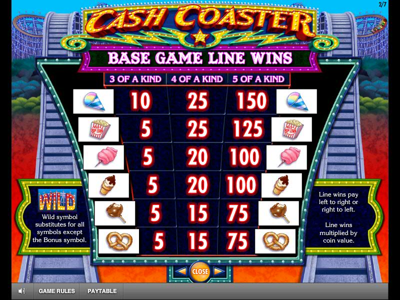 Cash Coaster automatenspiele