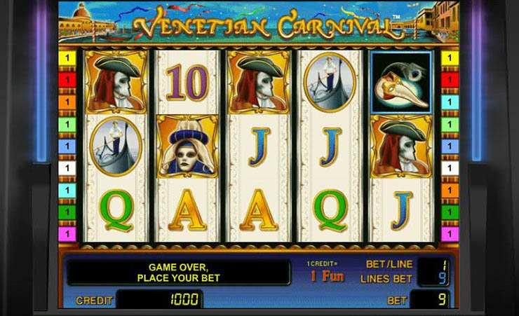 Spiele carnaval in casino für echtgeld