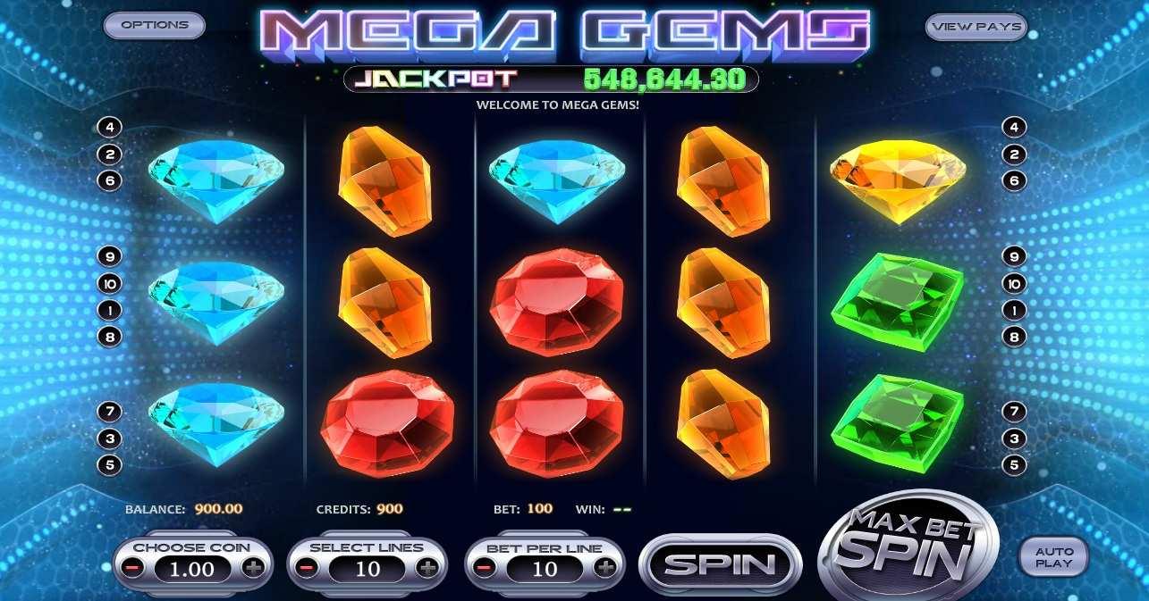 Mega Gems Spielaumat kostenlos
