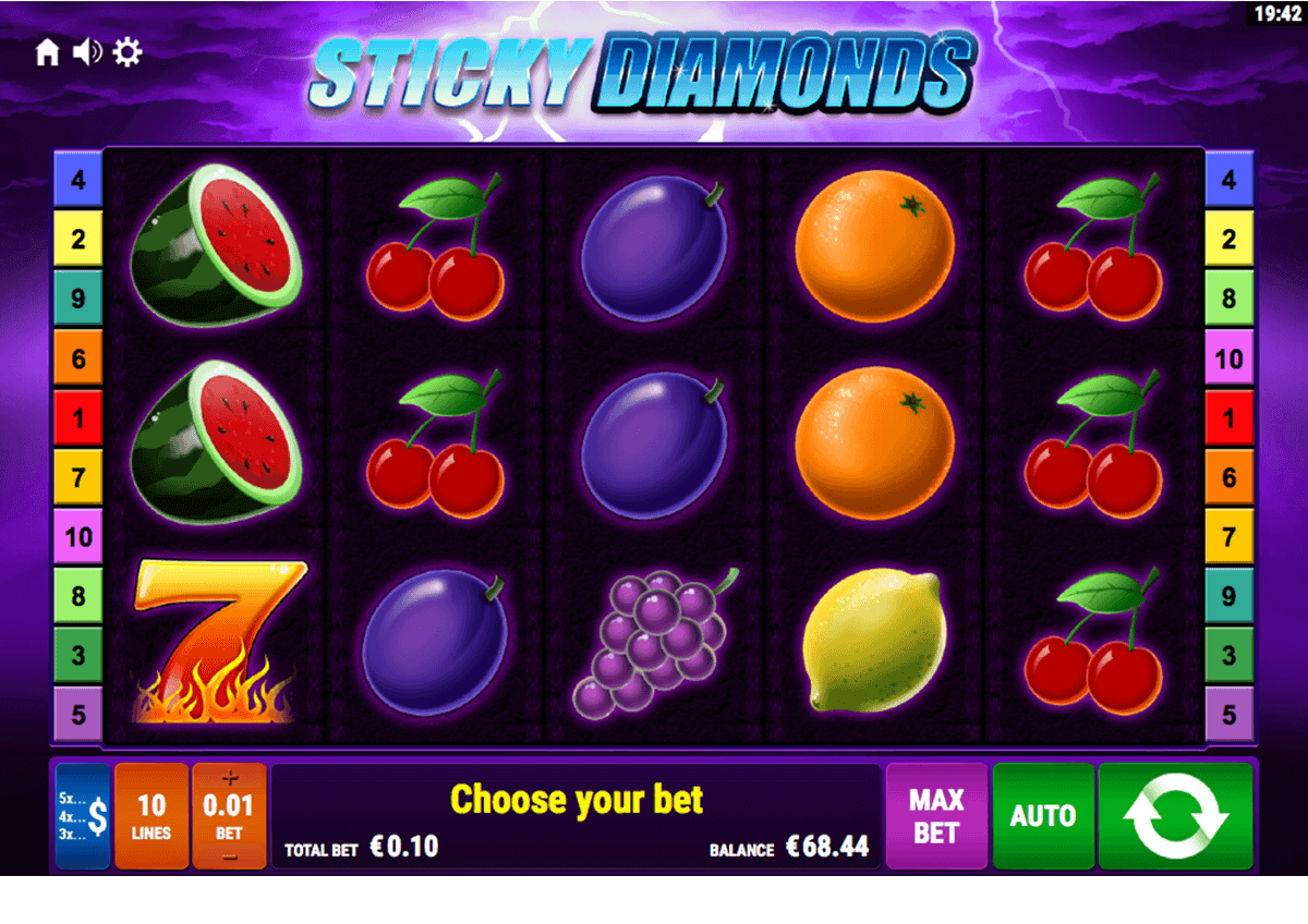 Spiele Sticky Diamond - Red Hot Firepot - Video Slots Online