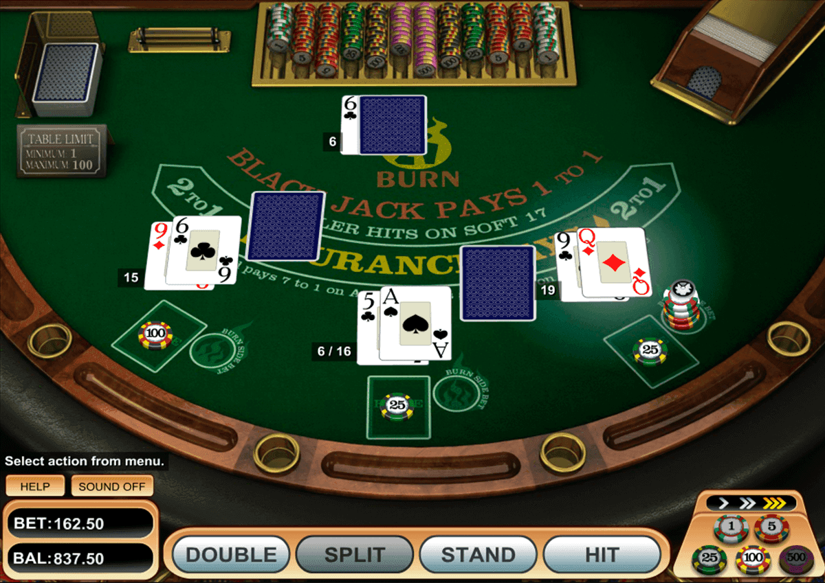Stand blackjack