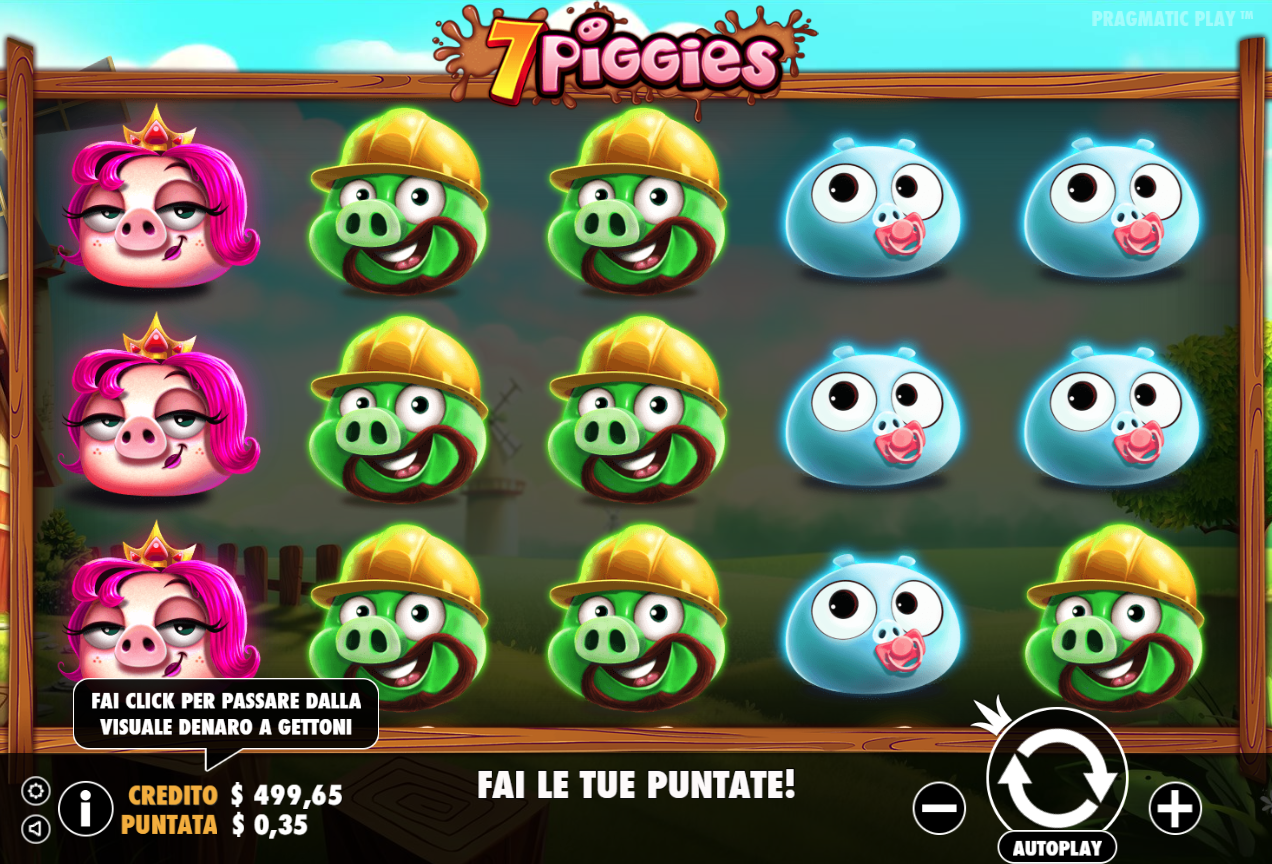 Spiele 7 Piggies Scratchcard - Video Slots Online