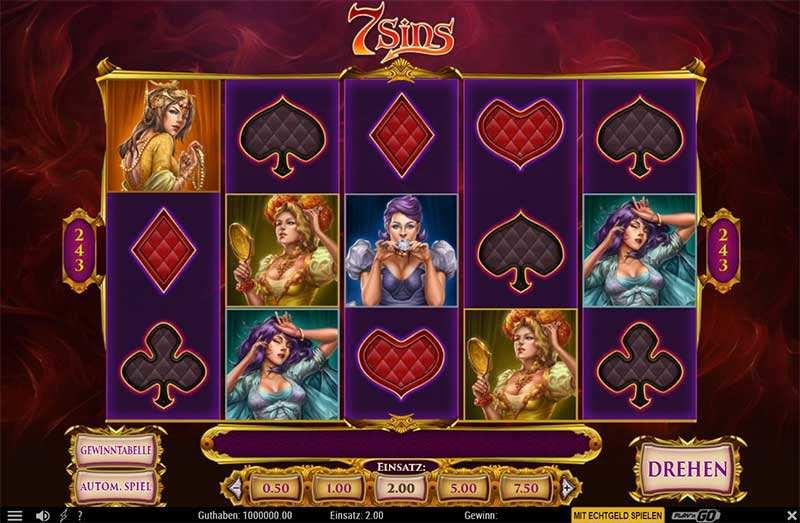 7 Sins Spiel