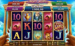 Almighty Jackpots - Realm of Poseidon Spielautomat kostenlos spielen von Novoline