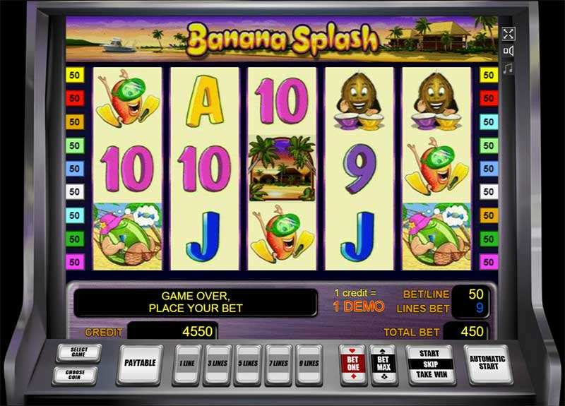 Spiele Banana Splash - Video Slots Online