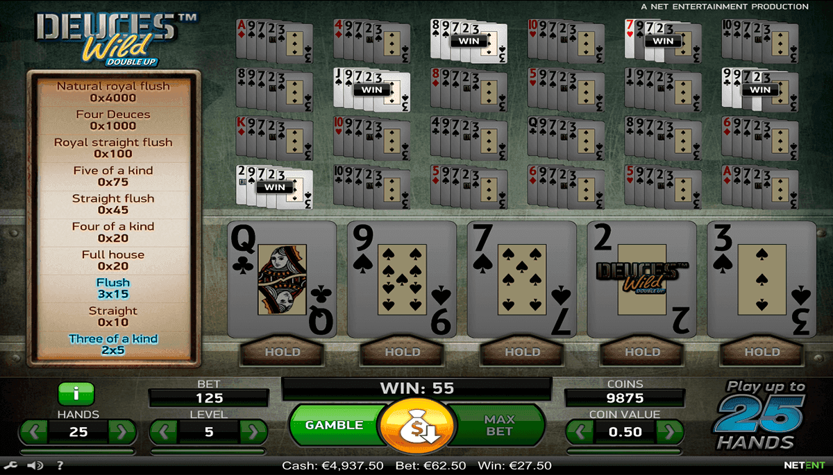 Spiele Deuces Wild (Section8) - Video Slots Online