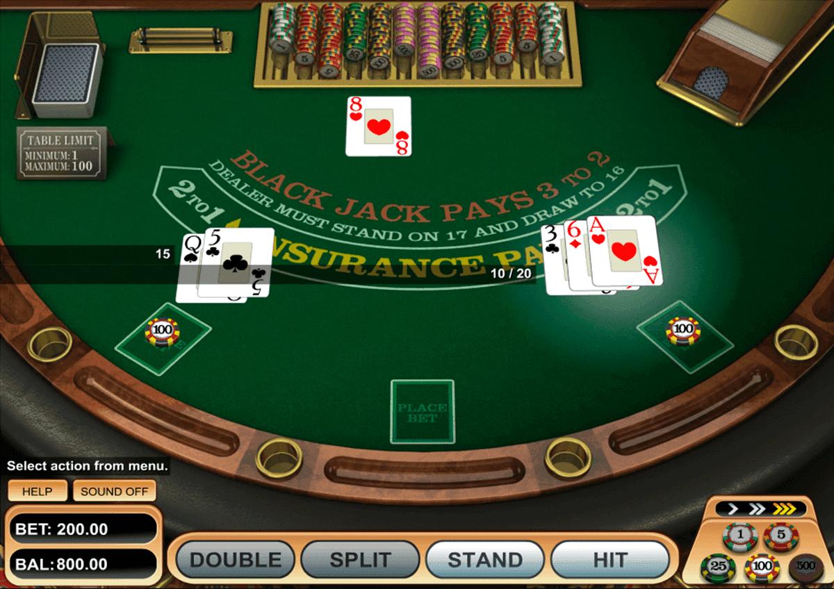 Blackjack Online Spiel