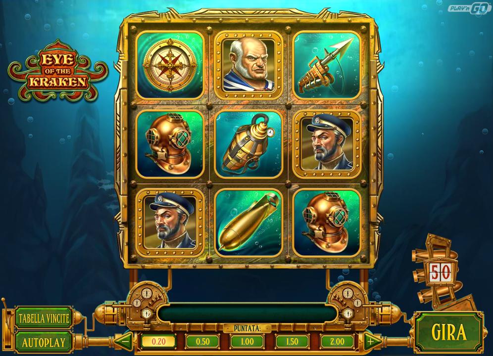 Spiele Eye Of The Kraken - Video Slots Online