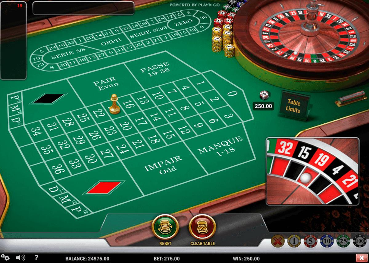 Online Casino Roulette Kostenlos