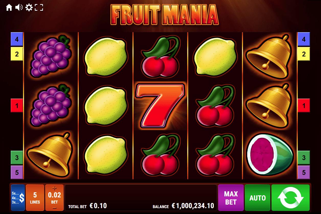 Spiele Fruit Mania - Golden Nights Bonus - Video Slots Online