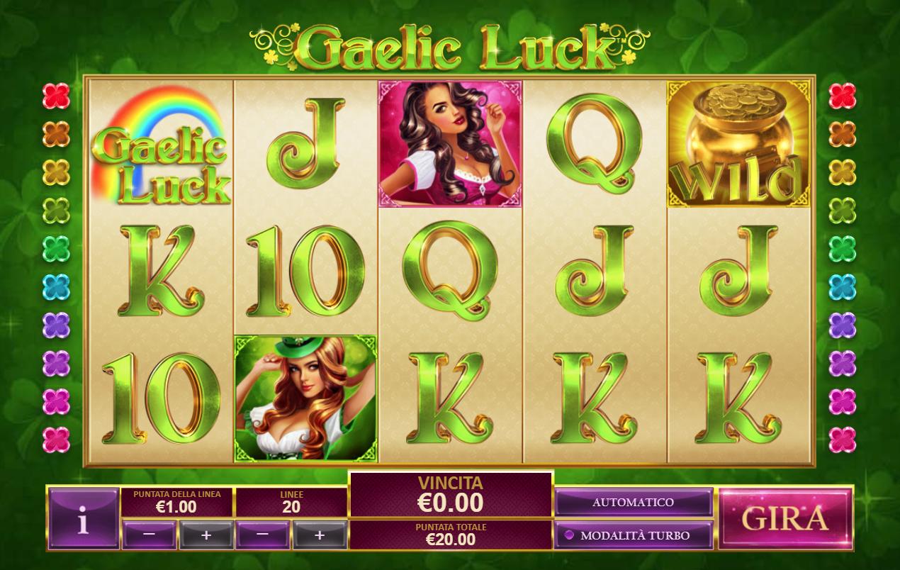 Spiele Gaelic Luck - Video Slots Online