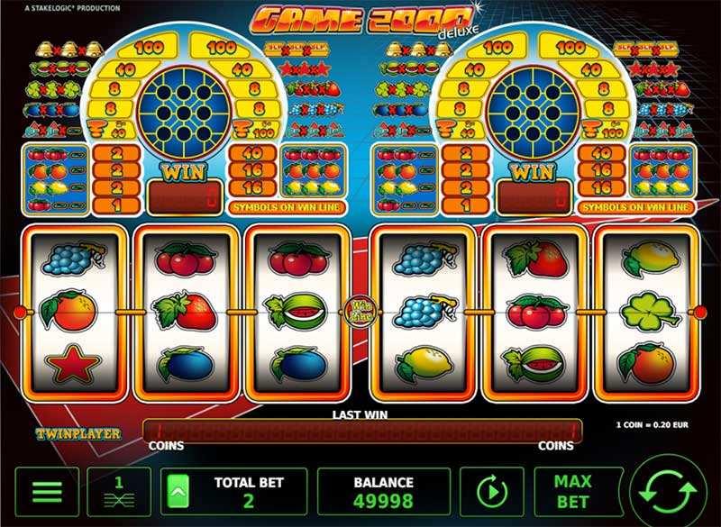 Game 2000 Deluxe kostenlos spielen ohne Anmeldung