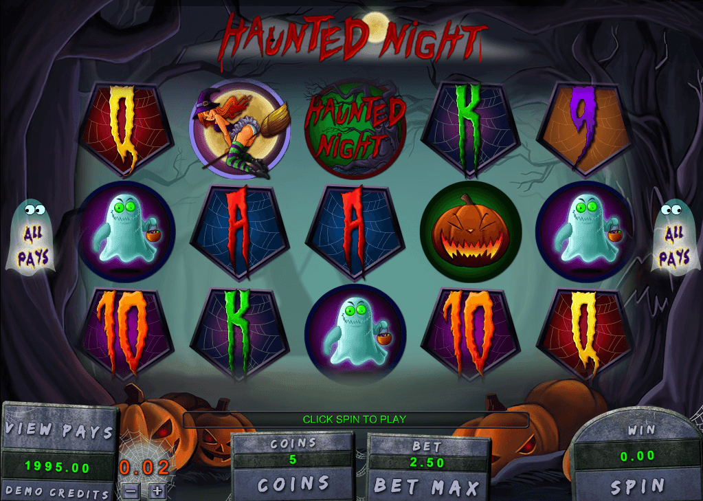 Spiele Haunted Night - Video Slots Online