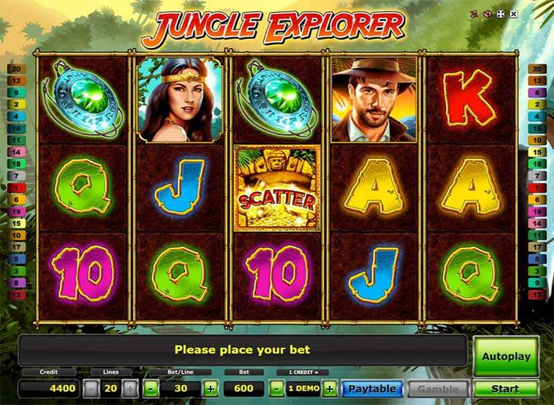 Spiele Jungle Explorer - Video Slots Online