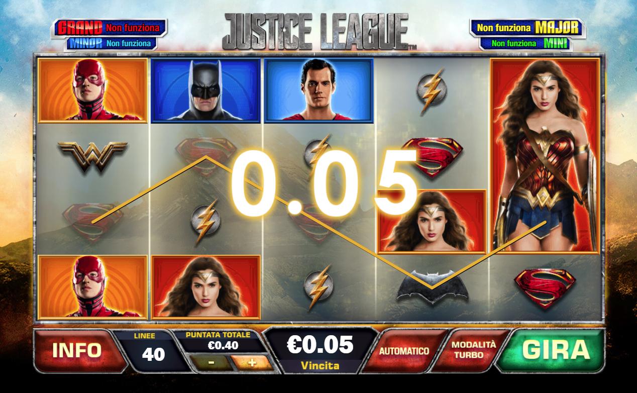 Spiele Justice League Comic - Video Slots Online