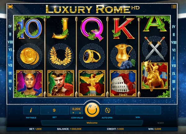 Spiele Luxury Rome - Video Slots Online