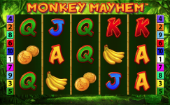monkey mayhem slot machine kostenlos spielen ohne anmeldung von merkur