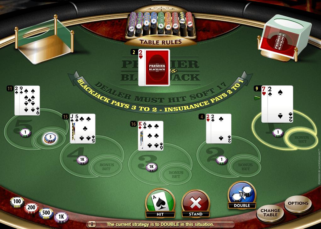 Multi Hand Blackjack