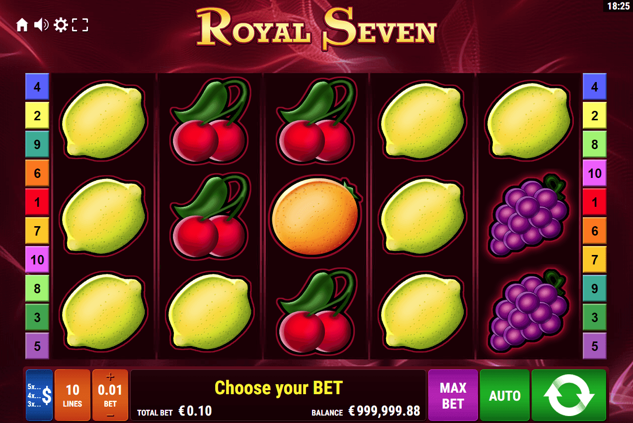 Spiele Royal Seven XXL RHFP - Video Slots Online