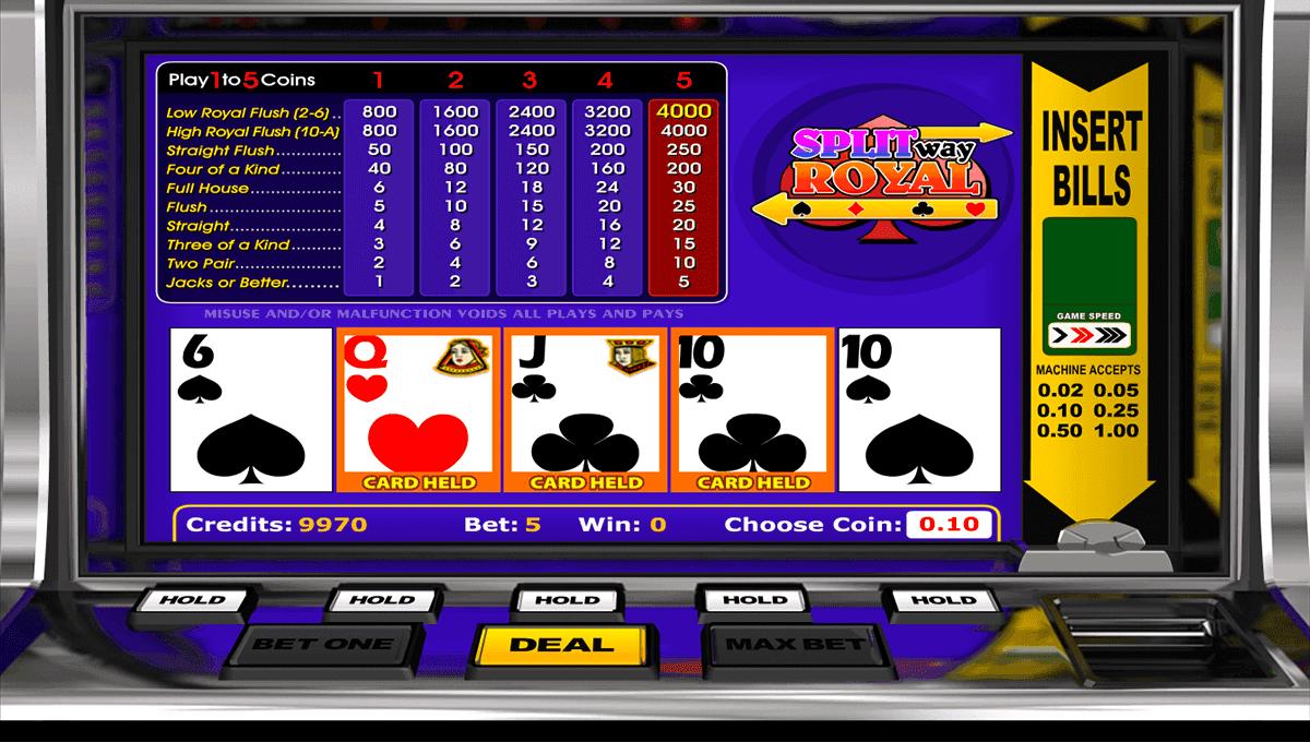 Video Poker Kostenlos