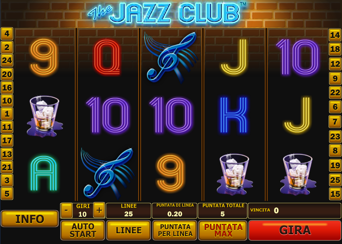 Spiele The Jazz Club - Video Slots Online