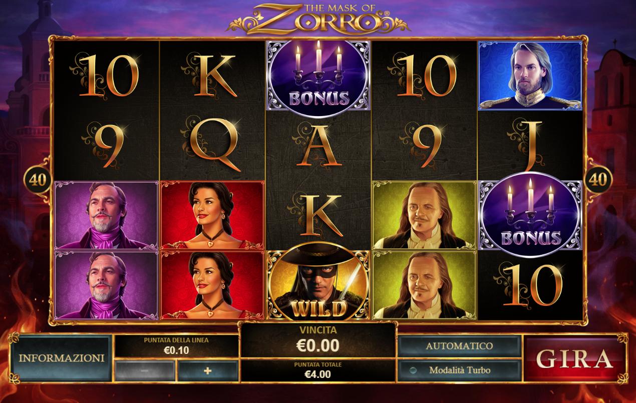 Spiele EL Zorro - Video Slots Online