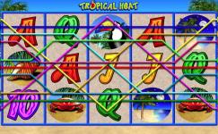 Tropical Heat spielautomat von Merkur Casino